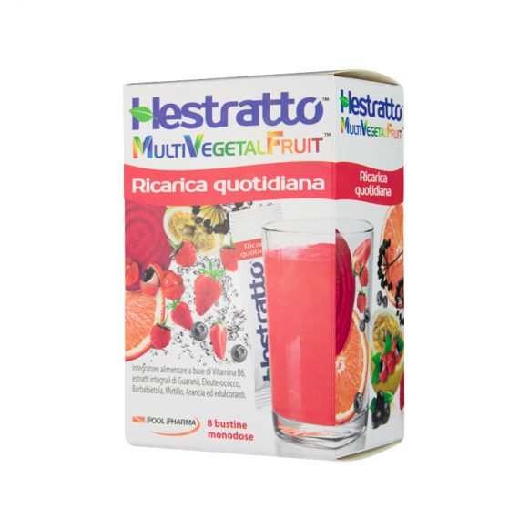 HESTRATTO MULTIVEGETALFRUIT RICARICA QUOTIDIANA 8 BT