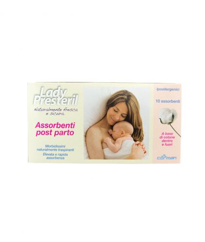 LADY PRESTERIL ASSORBENTI POST-PARTO 10PZ
