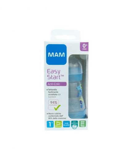MAM EASY START BIBERON ANTI-COLICHE 160ML 0m+