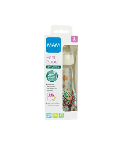 MAM FEEL GOOD BIBERON IN VETRO 260ML 2m+