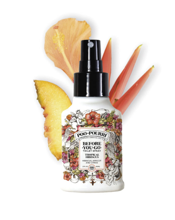 "POO-POURRI COPRI ODORI DA WC ""TROPICAL HIBISCUS"" (IBISCO E ALBICOCCA) 59ml"